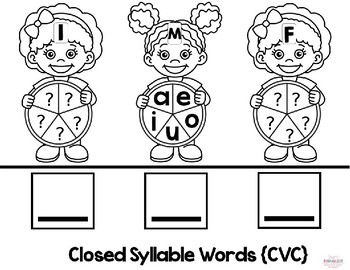 {B2S} Word-Building Spinner Activities