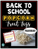 *BACK TO SCHOOL FREEBIE* TREAT TAGS: Let's get POPPIN into