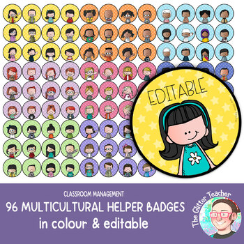 [BADGES] Editable Name Tags in colour