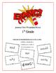 """BANG!"" 1st Grade Houghton Mifflin Journeys Unit 2 Vocabulary Game Packet"