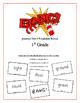 """BANG!"" 1st Grade Houghton Mifflin Journeys Unit 5 Vocabul"