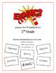 """BANG!"" 2nd Grade Houghton Mifflin Journeys Unit 4 Vocabulary Game Packet"