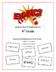 """BANG!"" 4th Grade Houghton Mifflin Journeys Unit 6 Vocabulary Game Packet"