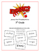 """BANG!"" 5th Grade Houghton Mifflin Journeys Unit 5 Vocabulary Game Packet"