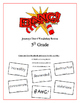"""BANG!"" 5th Grade Houghton Mifflin Journeys Unit 4 Vocabulary Game Packet"