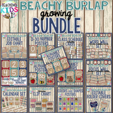 {BEACHY BURLAP} Bundle