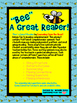 """BEE"" a Great Reader Elementary Comprehension Spinner Set"