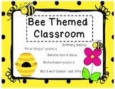 """BEE"" themed classroom"