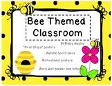 """BEE"" themed classroom"