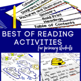 Reading Activities  | Poetry Analysis | Nonfiction Text Features | Punctuation