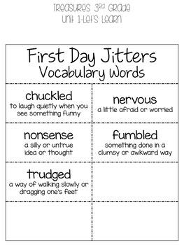 ***BIG BUNDLE*** 3rd Grade Treasures 2011 Units 1-6 Vocabulary Packet