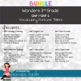 ***BIG BUNDLE*** 3rd Grade Wonders Units 1-6 Vocabulary Fortune Tellers