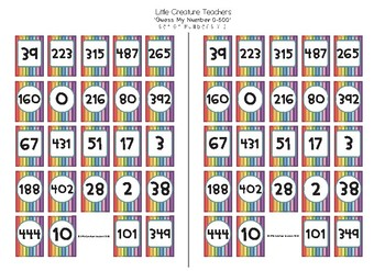 (BIG W) Maths Guess Who MULTI-PACK: Number, Geometry and Fractions