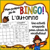 {BINGO: L'automne!} A Bingo game to practice Fall vocabula