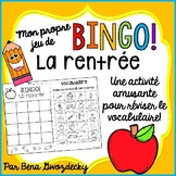 {BINGO: La rentrée!} A Bingo game to practice French back-