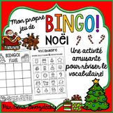 {BINGO: Noël!} A Bingo game to practice French Christmas vocabulary