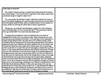"""The Birthmark"" by Nathaniel Hawthorne: Annotation Organizer"