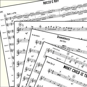 Jazz Combo Arrangements Bundle