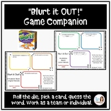 """BLURT it Out!"" A Speech and Language Game Companion (4th-"