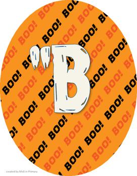 """""""BOO""""TIFUL WORK! Bulletin Board Header"""