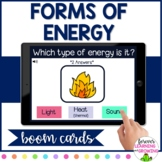 *BOOM CARDS* Forms of Energy (Light, Heat/Thermal, Sound)