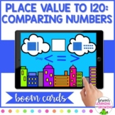 *BOOM CARDS* Place Value to 120: Comparing Numbers