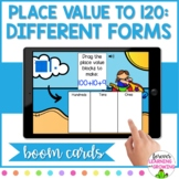 *BOOM CARDS* Place Value to 120: Different Forms