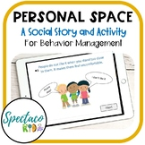 SEL Personal Space Social Story and Activity for Autism and Behavior Management