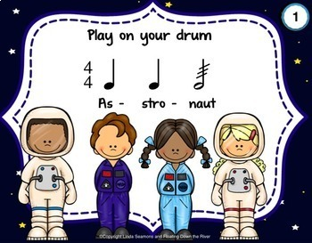 Outer Space Drumming for Learning, Fun, Performance