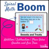 Spiral Math Review Boom Cards