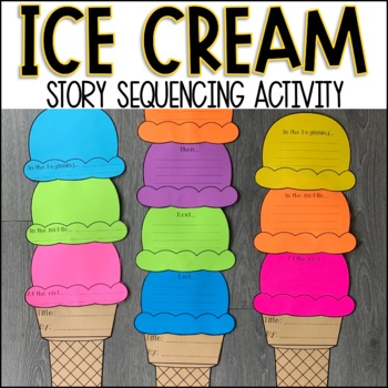 Sequencing Activity - Ice Cream