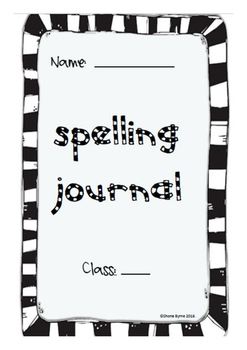 ** BUNDLE** 10 & 20 words per week Data Tracking Spelling Test Journal