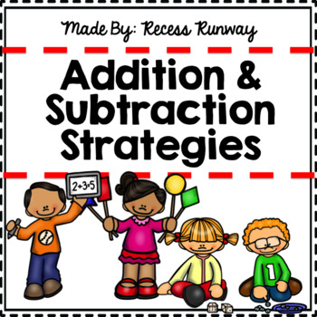 {BUNDLE} 1st GRADE ADDITION & SUBTRACTION STRATEGY POSTERS