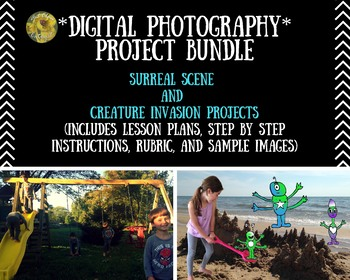 *BUNDLE* 2 Digital Photography/Art Projects(Surreal Scene and Creature Invasion)