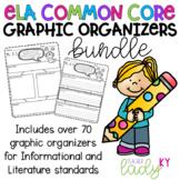 **BUNDLE** 3rd Grade CCSS Reading Literature & Informational Graphic Organizers