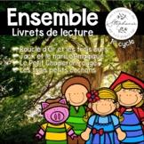 4 trousses pour lecteurs débutants : Les contes FRENCH REA