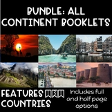 ***BUNDLE: ALL CONTINENT BOOKLETS***