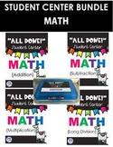 {BUNDLE} All Done Student Math Centers- Computation