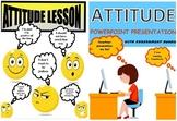 BUNDLE Distance Learning Attitude/Attitude Powerpoint Pres