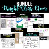 [BUNDLE] Bright Classroom Decor