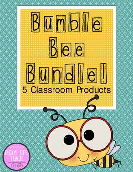 *BUNDLE* Bumble Bee Classroom Resources