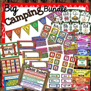 *BUNDLE* - Camping Themed Classroom Decor