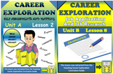 BUNDLE Distance Learning Career Exploration Job Searching/