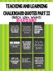 {BUNDLE} 32 Inspirational Chalkboard Quotes