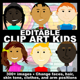 {BUNDLE} Clip Art Kids, Customize Your Own Clip Art with t