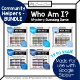 [BUNDLE] Community Helpers & Transportation Digital Review