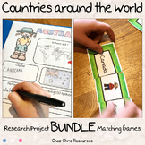 Research Project and Matching Games - Countries Around the