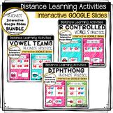 **BUNDLE** Distance Learning - Interactive Google Slides P