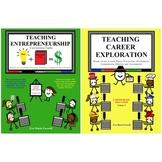 BUNDLE Teach Entrepreneurship and Teach Career Exploration Curriculum