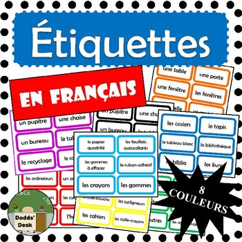 **BUNDLE** Étiquettes pour la classe - French Classroom Labels